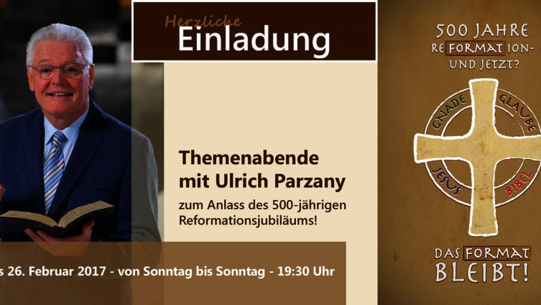 Themenabende mit Ulrich Parzany